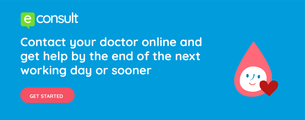 eConsult.  Contact your doctor online and get a response by the end of the next working day or sooner